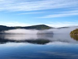 Vu sur le lac du Laouzas