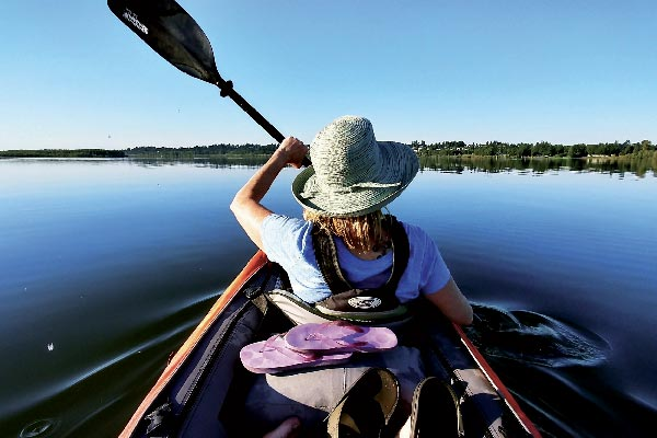 Camping les Fées du lac - lac du laouzas