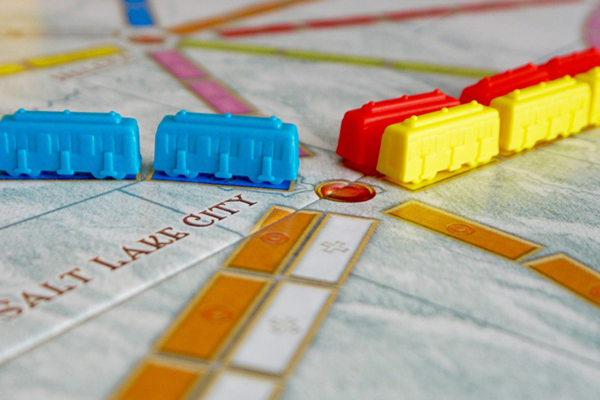 jeux : Les aventuriers du rail