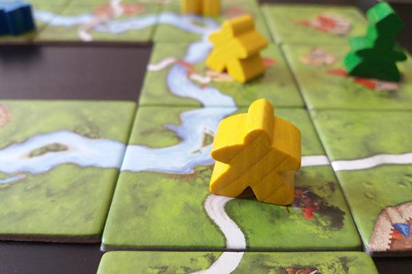 jeu : carcassonne